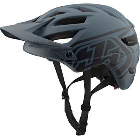Troy Lee Designs A1 Cykelhjälm grå/svart